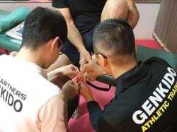 SAW 日本国際選手権大会トレーナー活動