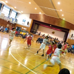 千葉県高等学校男女バスケットボール新人大会 トレーナー帯同