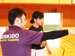 GENKIDOバスケットボール体幹クリニック開催 ~伊勢崎市立第四中学校~