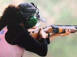 クレー射撃 小島千恵美選手トレーニングサポート