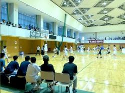 加賀地区中学校体育大会兼県体予選会 バスケットボール競技~トレーナー活動報告~