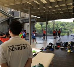 富谷市立成田中学校ハンドボール部 トレーナー活動報告