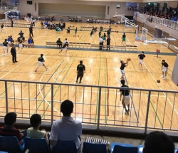 伊勢崎市春季中体連バスケットボール大会 トレーナー活動報告