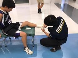 豊島区中学校秋季バスケットボール大会 ~トレーナー活動報告~